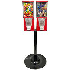 Buy Eagle Two Head Metal Bulk Vending Machine with Stand - Vending Machine  Supplies For Sale